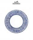 Bleus d'Ailleurs Dessert plate (Hermes)