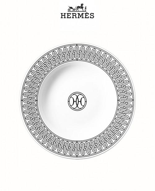 H Déco Soup plate (Hermes)
