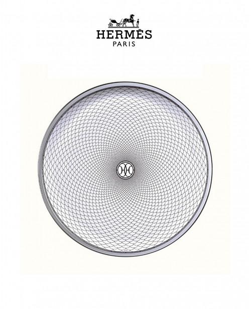 H Deco Rouge Tart Platter (Hermes)