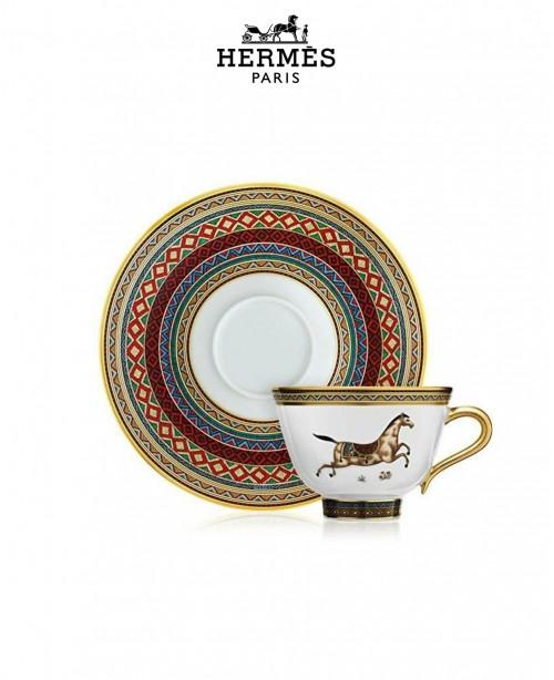 Cheval D'Orient Set of 6 Tea Cups & ...
