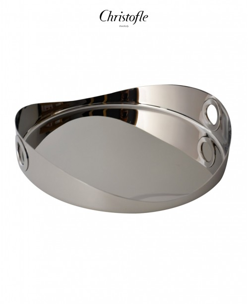 Oh de Christofle Stainless Steel Round T...