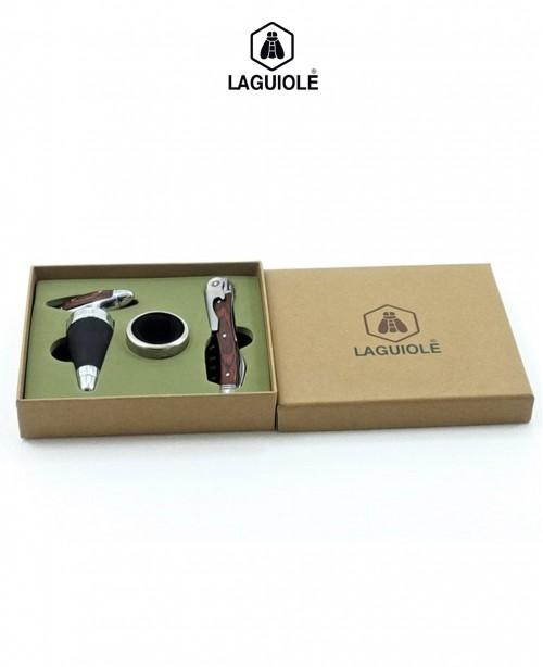 Wine Waiter Gift Set - Wine opener, Bacc...
