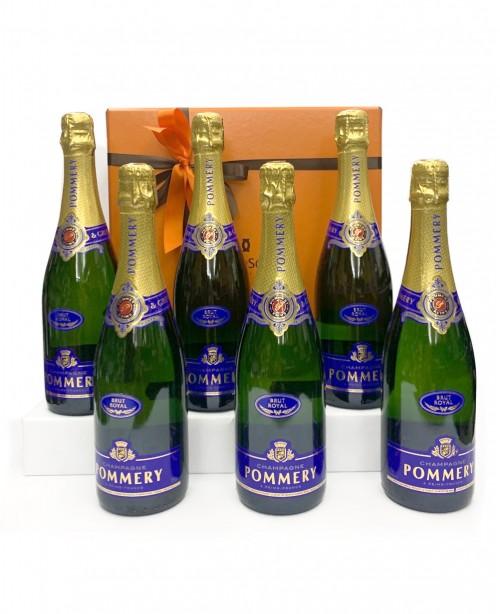 The Champagne (6 Bottle Wine Hamper)