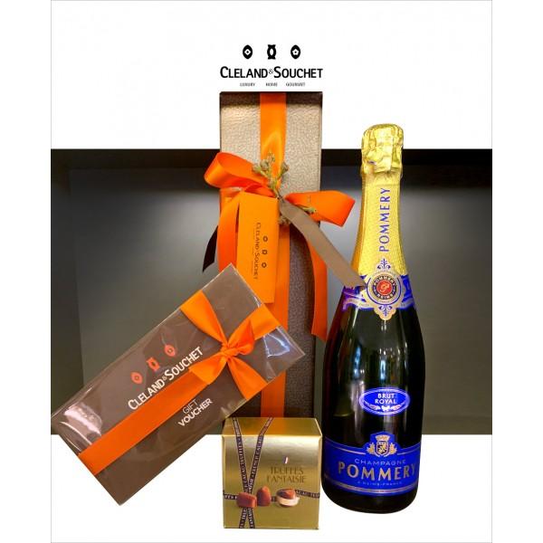 Champagne & Truffles + Voucher Hampe...