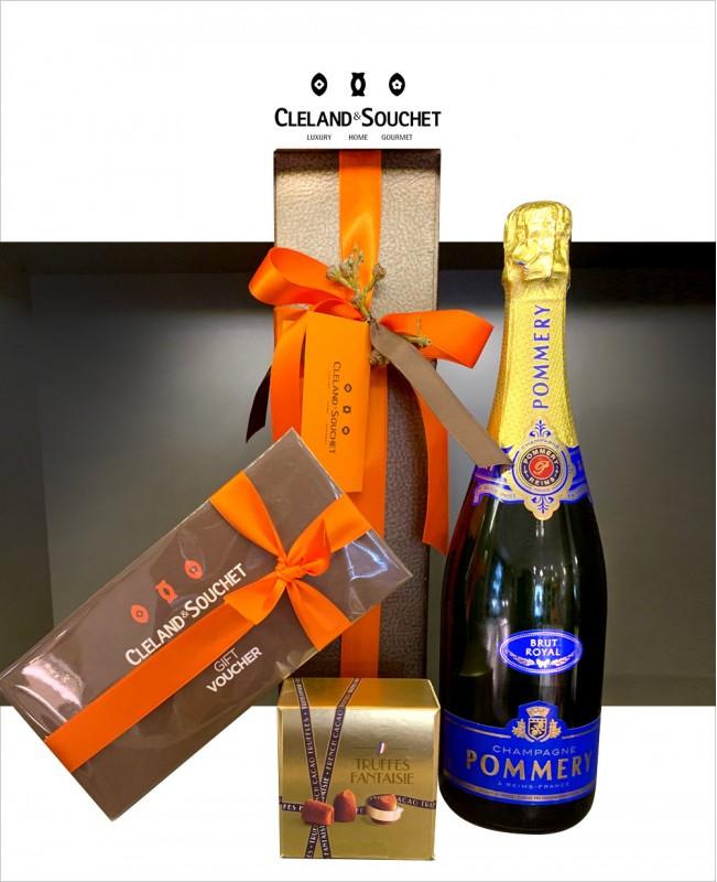 Champagne & Truffles + Voucher Hamper