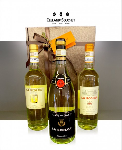 La Scolca - 3 Bottle Wine Hamper