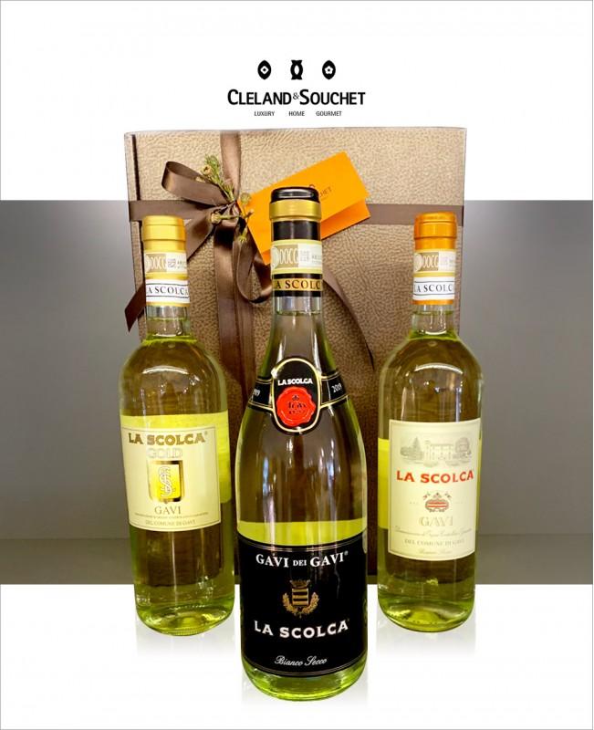 La Scolca - 3 Bottle Wine Hamper