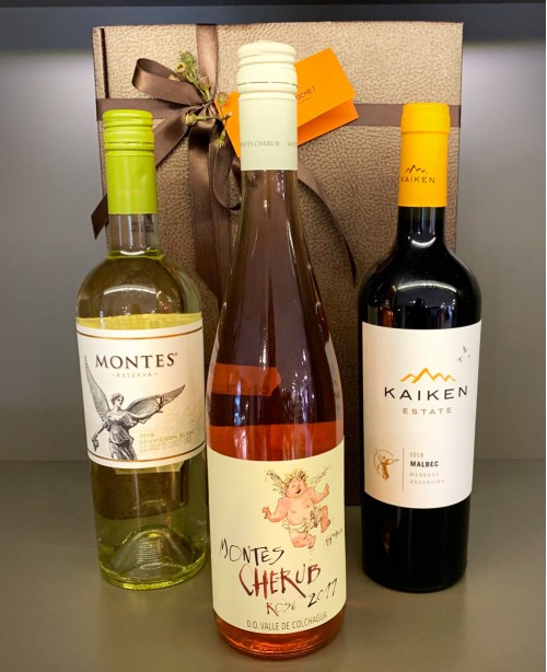 Montes/Kaiken - 3 Bottle Wine Hamper