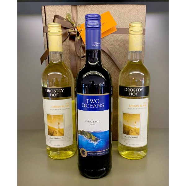 Two Oceans - 3 Bottle Wine Hamper