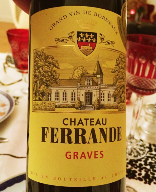 Graves AOC Rouge (Chateau Ferrande)