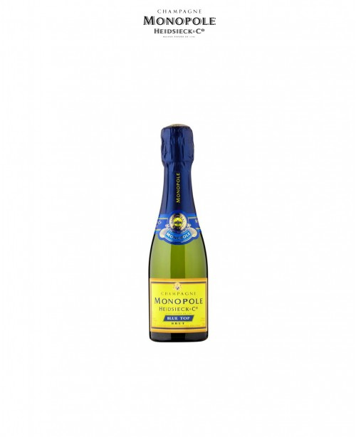 Brut Blue Top Champagne - quarter bottle...