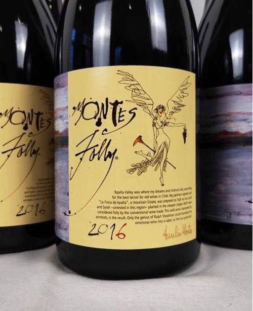Syrah Folly (Vina Montes)