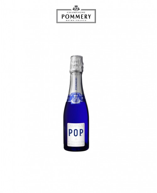 POP Blue Quarter Bottle Champagne (Pomme...