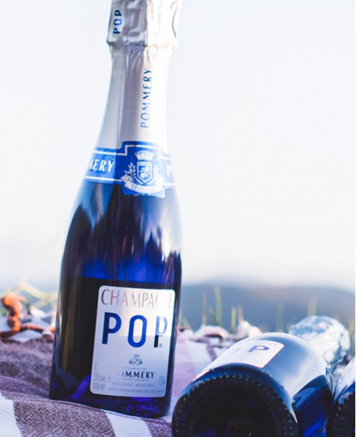 POP Blue 20cl Champagne (Pommery)