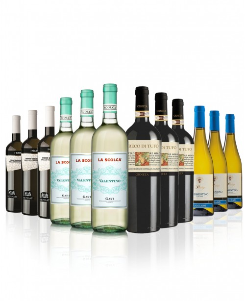 Italian Whites 12 bottles (Wine Mixed Ca...