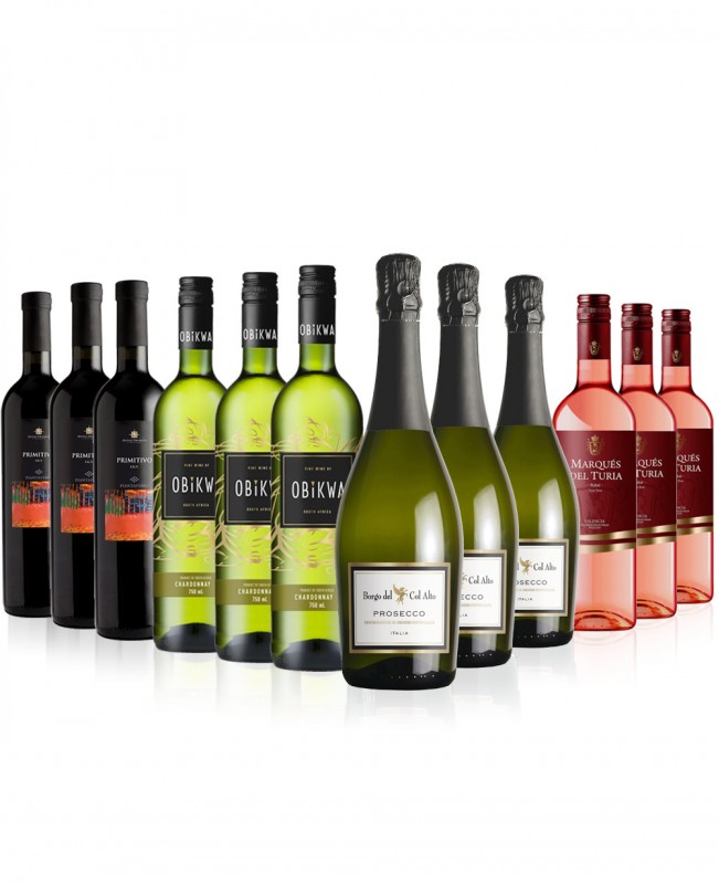 Party Mix 12 bottles (Mixed Wine Case)