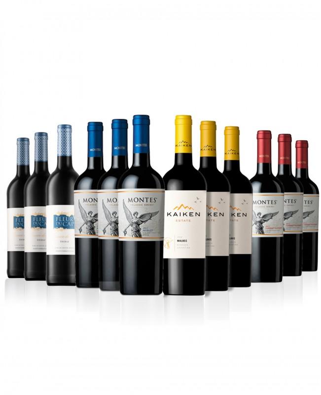 New World Reds (Mixed Wine Case)
