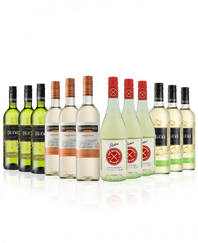 New World Whites (Mixed Wine Case)