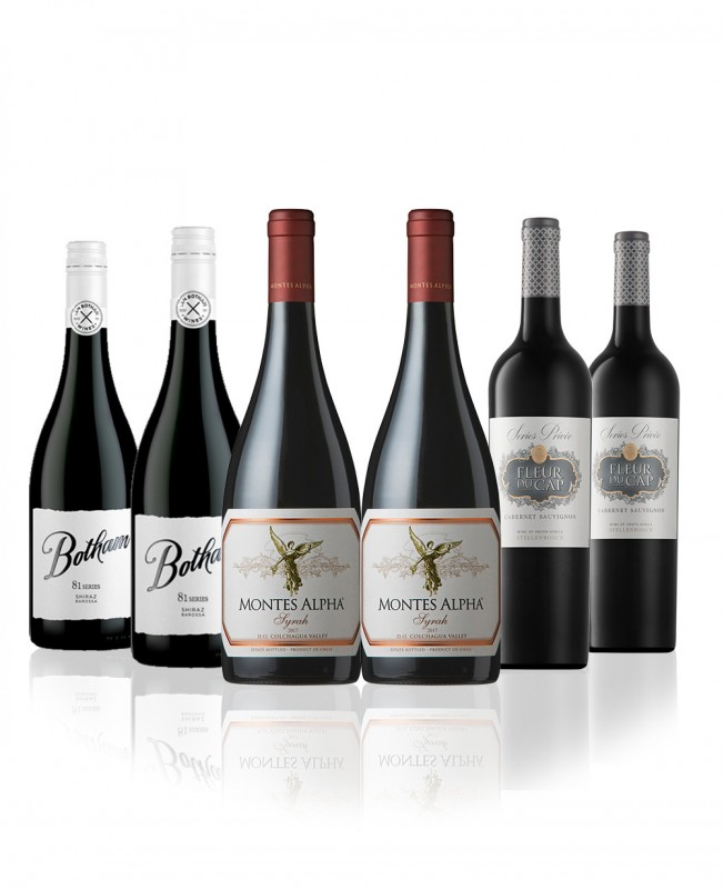 New World Reds (Mixed Six Wine Case)